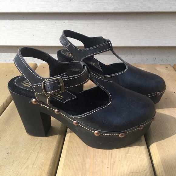 Sbicca Schuhes   Vintage Collection Wooden Heeled  Clog  Heeled  Poshmark af100a